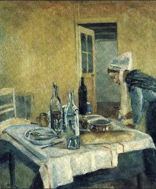 משרתת ברטונית, אוסף פרטי, 1896