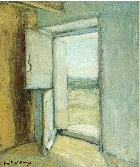 הדלת הפתוחה, אוסף פרטי, 1896.