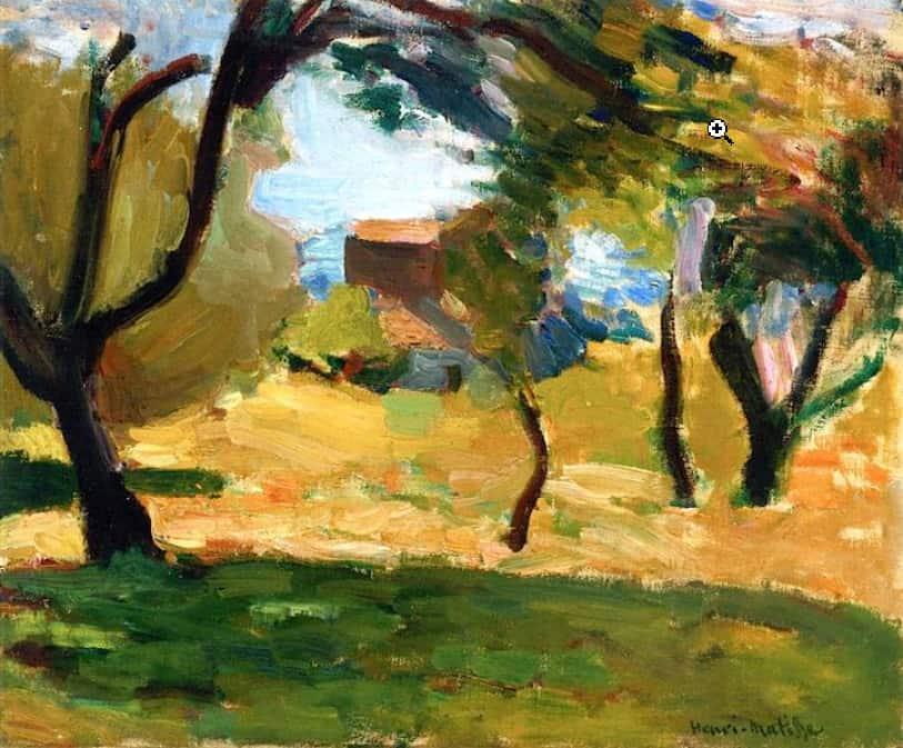 נוף, קורסיקה, אוסף פרטי, 1898.