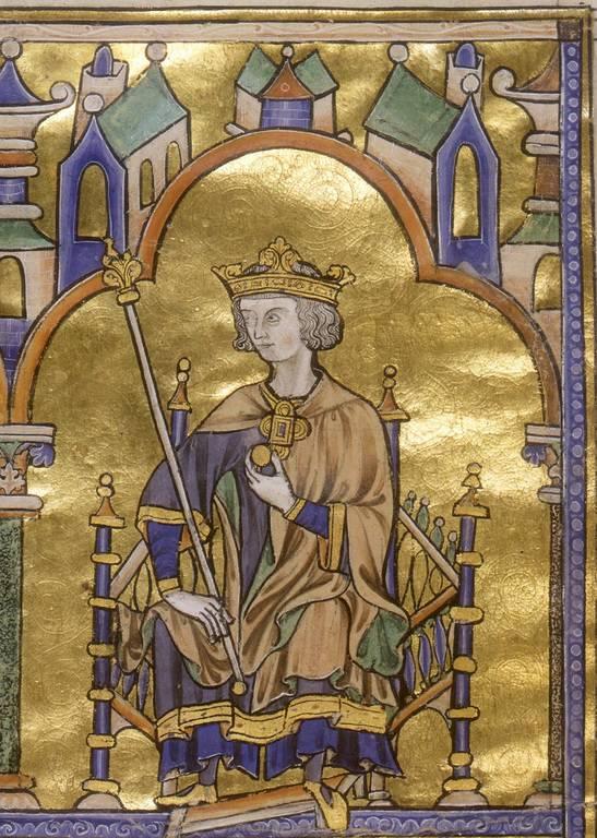 המלך לואי ה-9. מקור תמונה: ויקיפדיה.