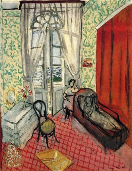 נשים על ספה או הספה, מוזיאון האורנז'רי, 1921