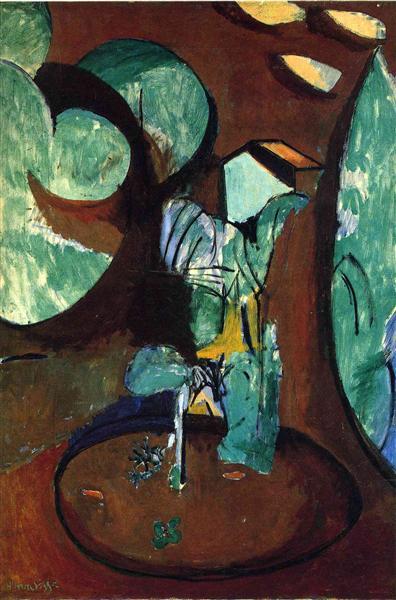 גן באִיסִי, ביילר פאונדיישן, באזל, 1917