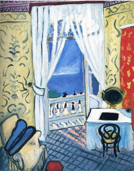 חדר עם נרתיק כינור, המוזיאון הלאומי לאמנויות יפות בקופנהגן, 1919