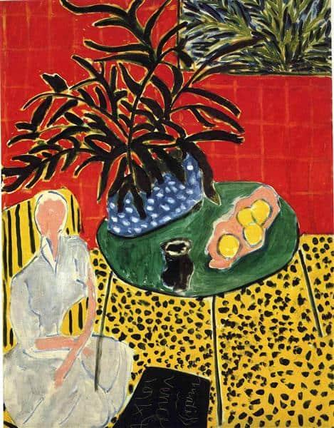 חדר עם שרך שחור, ביילר פאונדיישן, באזל, 1948