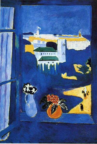 נוף מחלון, מוזיאון פושקין, מוסקבה, 1912-1913
