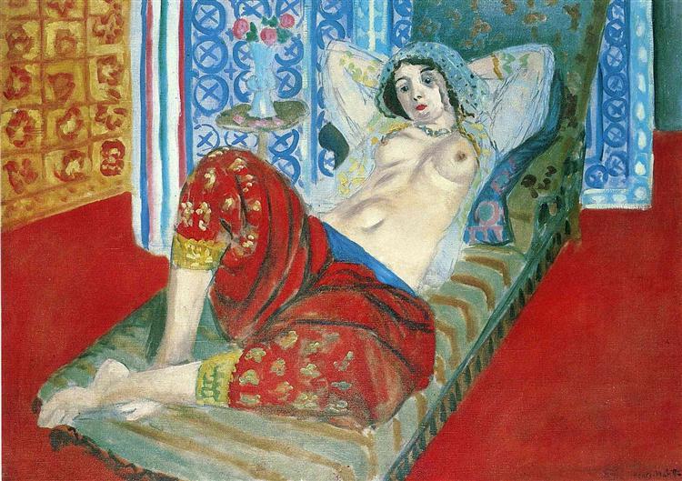 אשת הרמון במכנסיים אדומים, המוזיאון לאמנות עכשווית, קראקס, 1921
