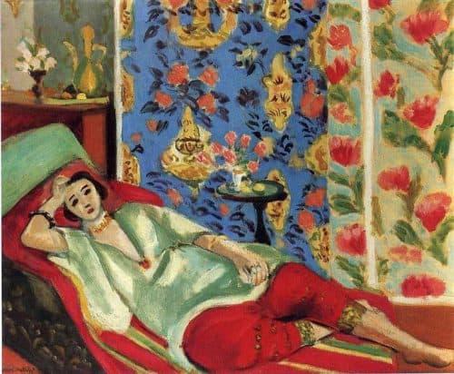 אשת הרמון במכנסיים אדומים, מוזיאון האורנז'רי בפריז, 1924