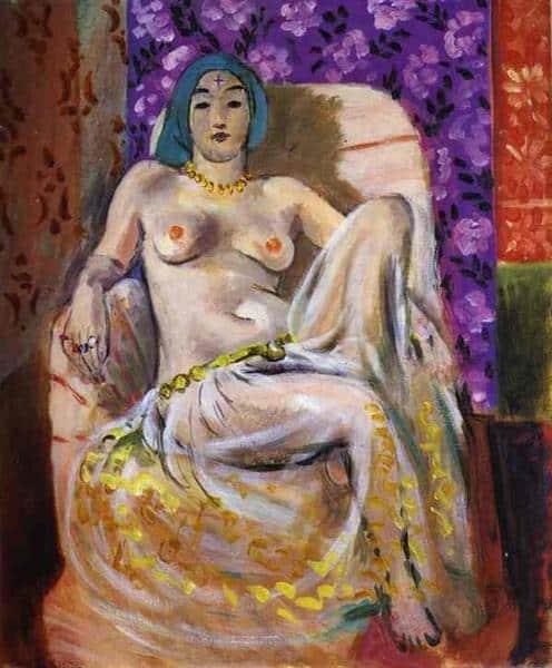 אשת הרמון יושבת, בארנס פאונדיישן, פילדלפיה, 1922