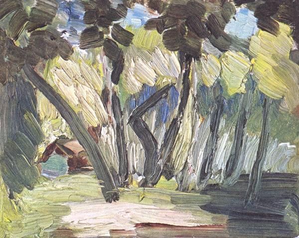 נוף בטהיטי, 1930