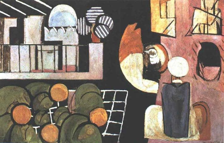 המרוקאים, המוזיאון לאמנות מודרנית בניו יורק, 1915-1916