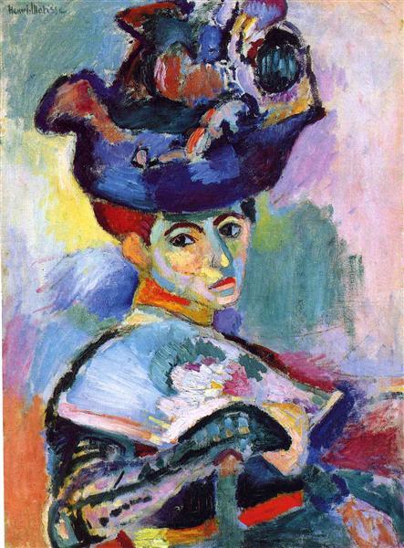 אישה בכובע, המוזיאון לאמנות מודרנית של סן פרנסיסקו, 1905.