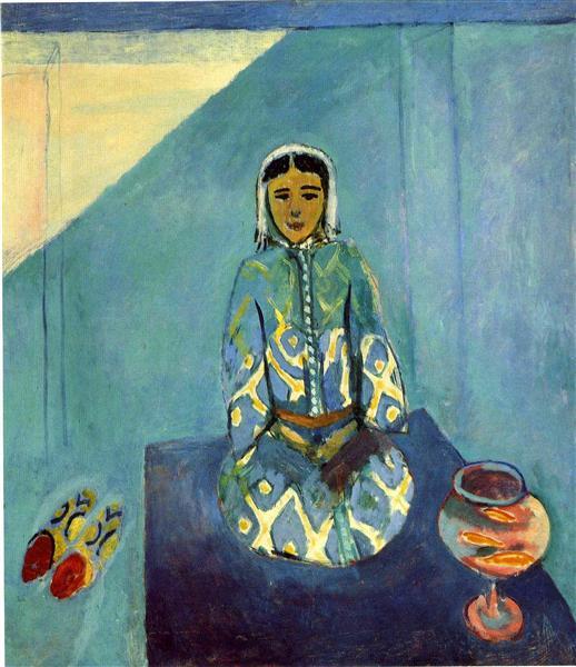 זורה על הטרסה, מוזיאון פושקין, מוסקבה, 1912-1913
