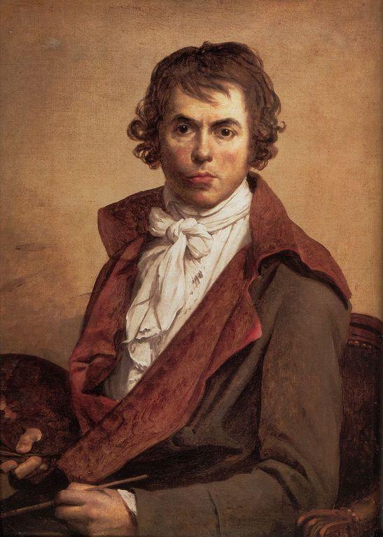 ז'אק לואי דוד. דיוקן עצמי משנת 1794