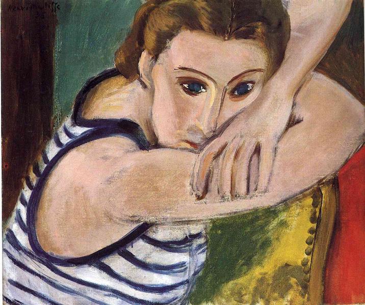 עיניים כחולות, מוזיאון האמנות של בולטימור, 1934