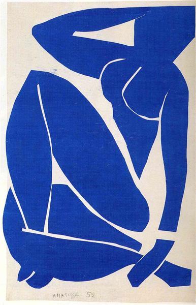 עירום כחול, מרכז פומפידו, 1952