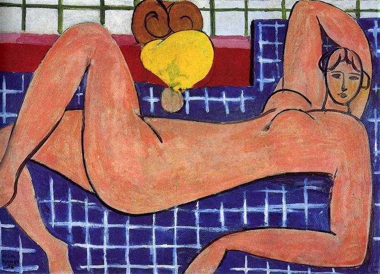 עירום ורוד, מוזיאון האמנות של בולטימור, 1935