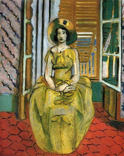 השמלה הצהובה, מוזיאון האמנות של בולטימור, 1929-1931