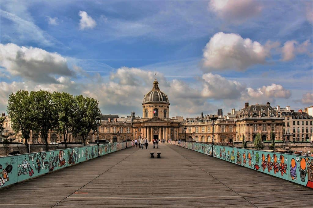 המעקות החדשים של גשר האומנויות. צילם: יואל תמנליס