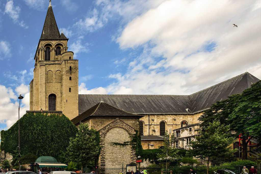 סן ז'רמן דה פרה - ממנזר עתיק לכנסיית השכל