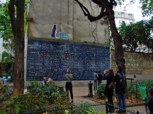 מונמרטר - קיר האהבה ותעלומת האישה שעל הקיר - בגן הסמוי מאת רותי שמעוני