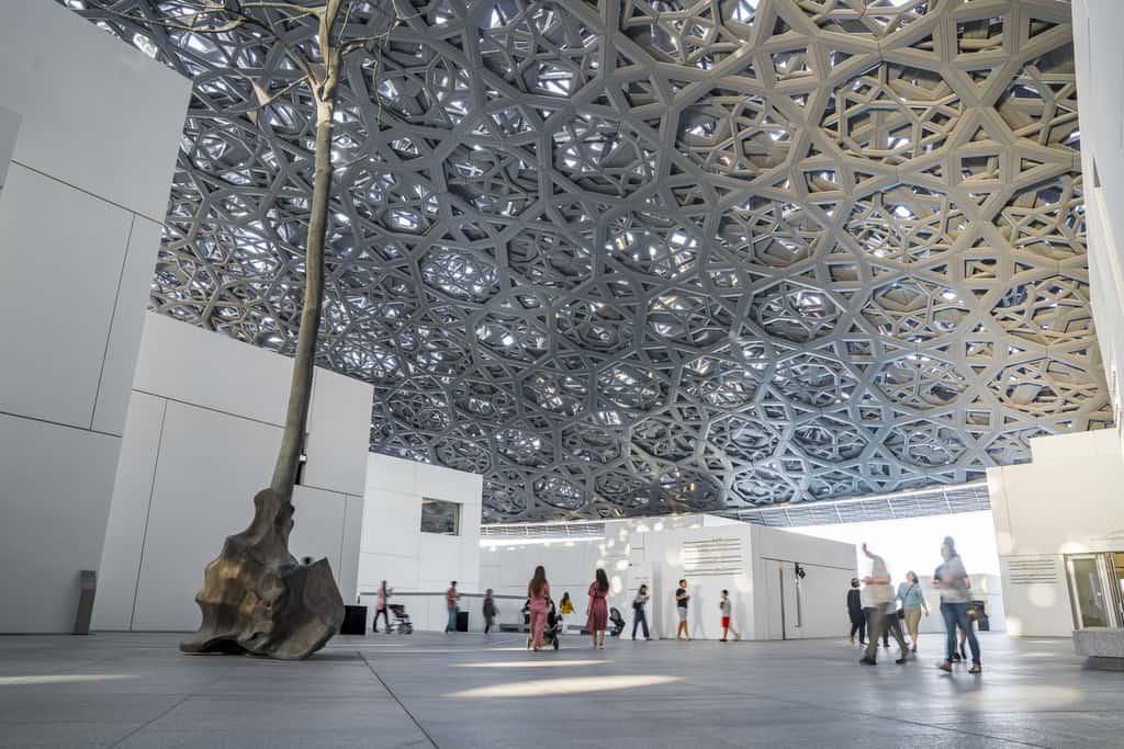 מוזיאון לובר אבו דאבי - מבט מבפנים