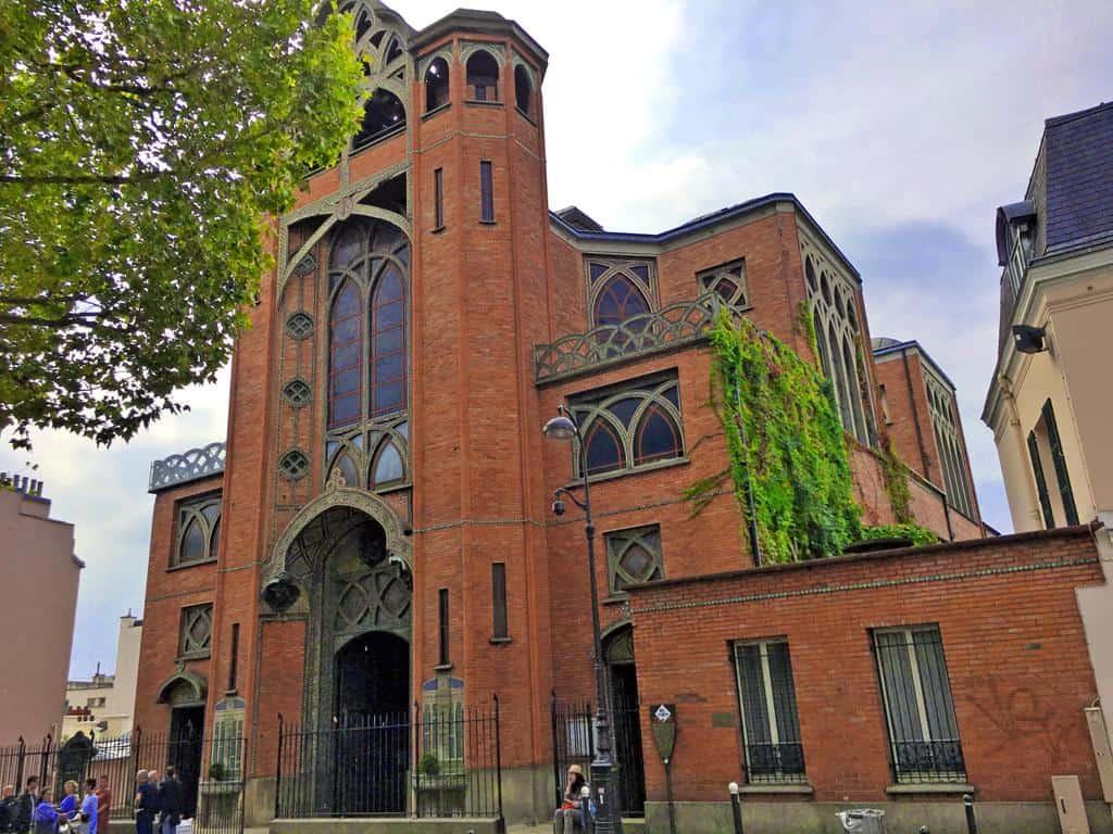 "כנסיית ""סן ז'אן ל'אוונז'יליסט"". צילמה: רותי שמעוני"