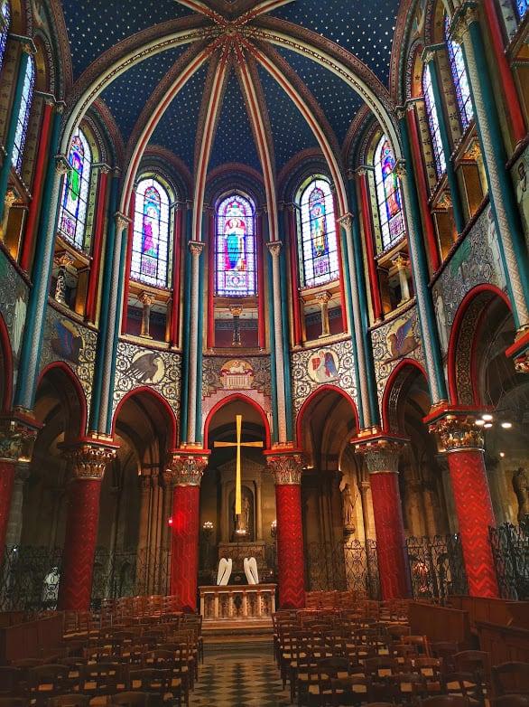 כנסיית סן ז'רמן דה פרה. צילם: צבי חזנוב.