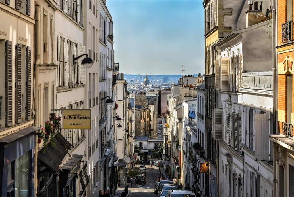 Rue Tholozé. צילום: יואל תמנליס