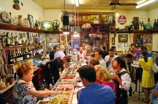 מסעדת El xampanyet. צילמה: רנטה ביסמוט