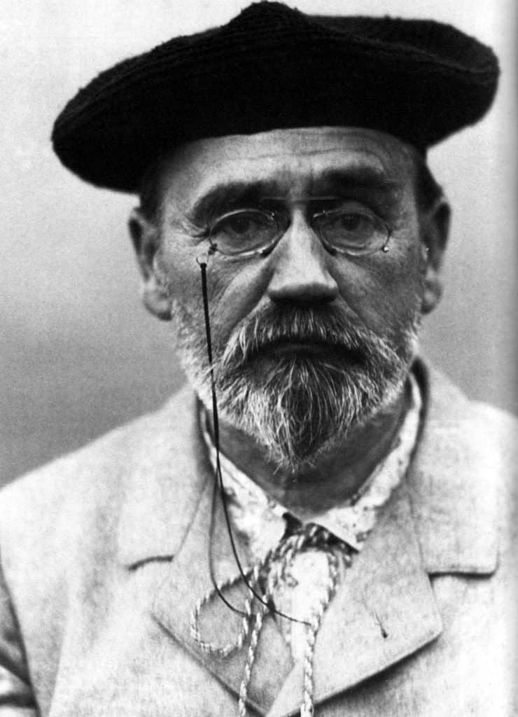 אמיל זולא בשנת 1902.