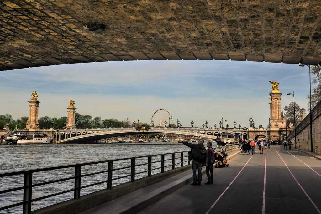 גשר אלכסנדר השלישי. צילם: יואל תמנליס