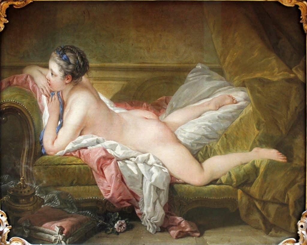 מארי לואיז אומרפי. ציור משנת 1752 מאת פרנסואה בושה.