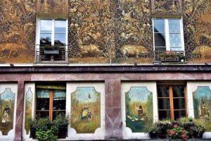 בית ברחוב מופטאר. צילום: יואל תמנליס.