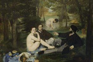 אדואר מאנה, ארוחת הבוקר על הדשא, 1863, שמן על בד, 268.5X208 ס