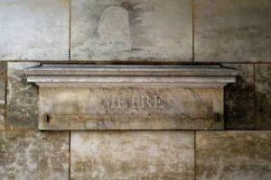 המטרה אטאלון המקורי מתחת לארקדה ב - 36 rue Vaugirard