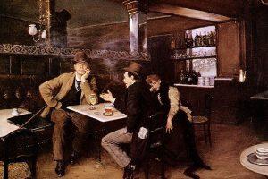 ביסטרו - ציור מאת ז'אן ברו