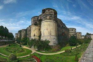 טירת אנז'ה. מקור צילום: ויקיפדיה.