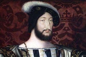 ז'אן קלואה, פרנסואה ה-1 מלך צרפת, 1530 בקירוב, לובר, פריז  Jean Clouet, King Francis, c. 153. מקור ציור ויקיפדיה.