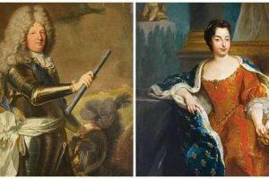 מאריה אנה ויקטוריה מבאווריה (מימין) ולואי הדופין הגדול משמאל. מקור תמונות ויקיפדיה.