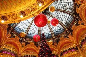 חג המולד (כריסמס) וראש השנה האזרחית (סילבסטר) בפריז.