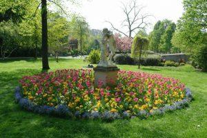 גן ראנלאג, אווירה רומנטית של ה