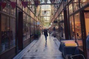 הפהפסאז'ים של פריז - מסלול טיול