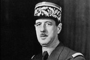 שארל דה גול. מקור צילום: ויקיפדיה